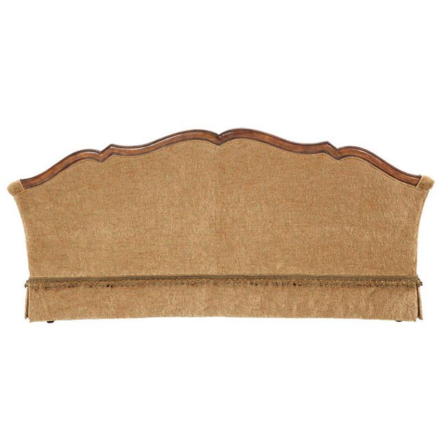 Villa Valencia Wood Trim Tufted Sofa Aico Furniture