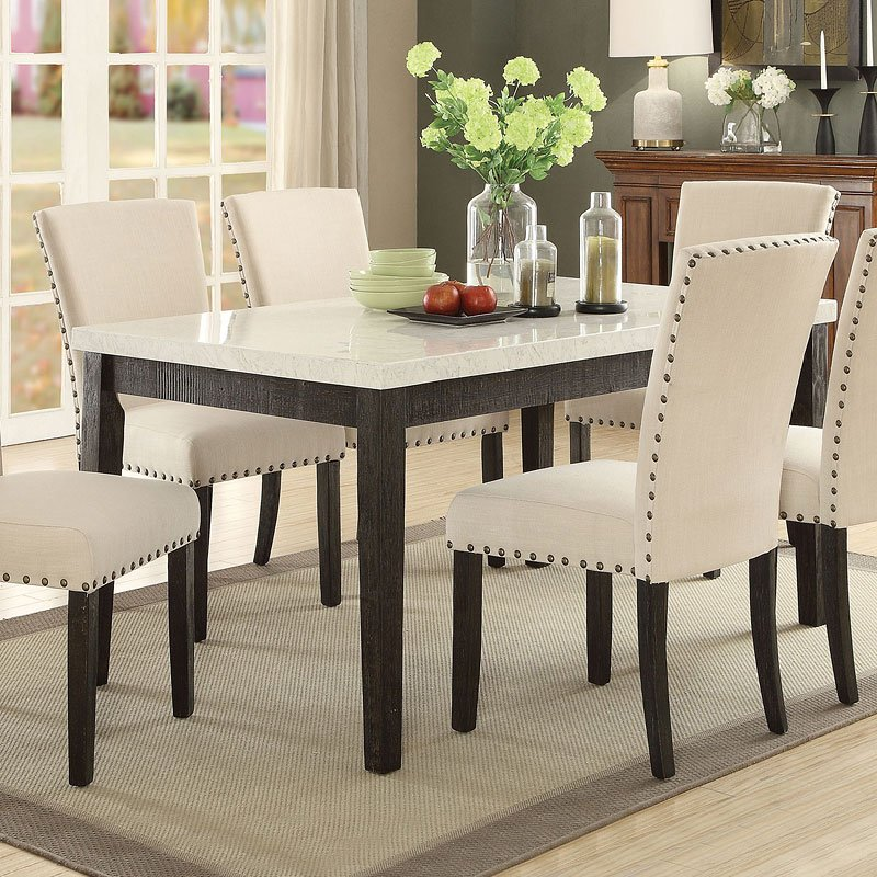 Dazzelton Dining Room Table: Nolan Rectangular Dining Table Acme Furniture