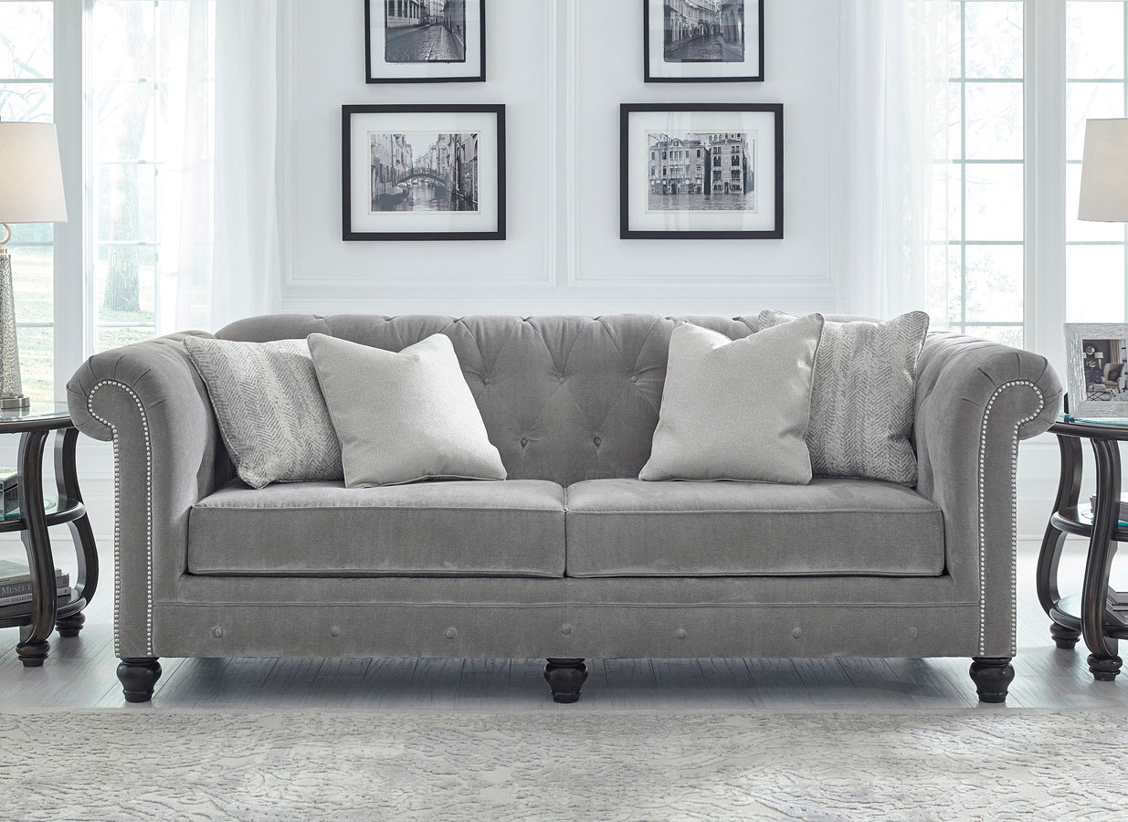 Tiarella Ash Sofa Benchcraft Furniture Cart
