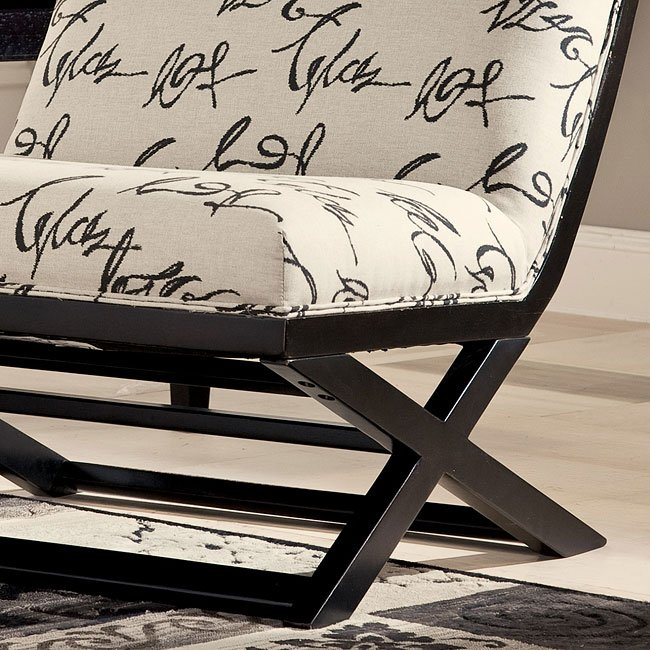Levon Charcoal Showood Accent Chair Signature Design, 4 ...