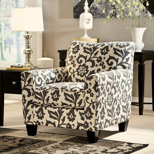 Levon Charcoal Accent Chair Signature Design 4 Reviews