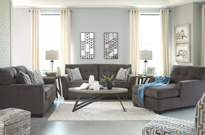 Alsen Granite Living Room Set BenchCraft | Furniture Cart