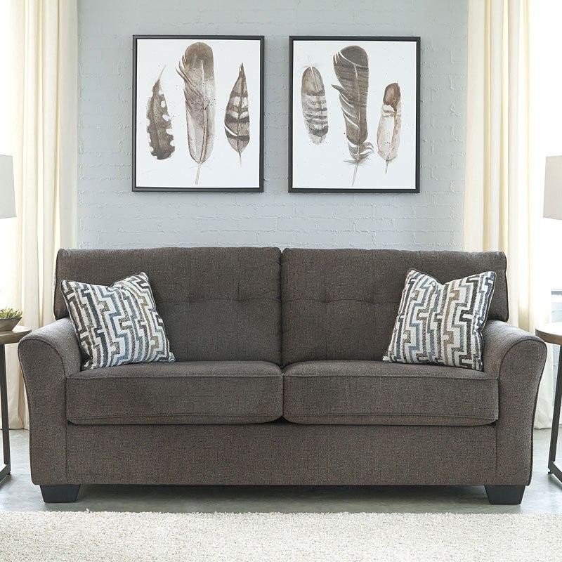 Alsen Granite Sofa Benchcraft Furniture Cart