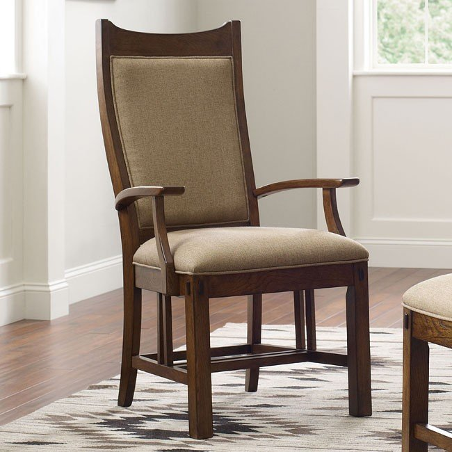 Bedford Park Craftsman Arm Chair (Set Of 2)