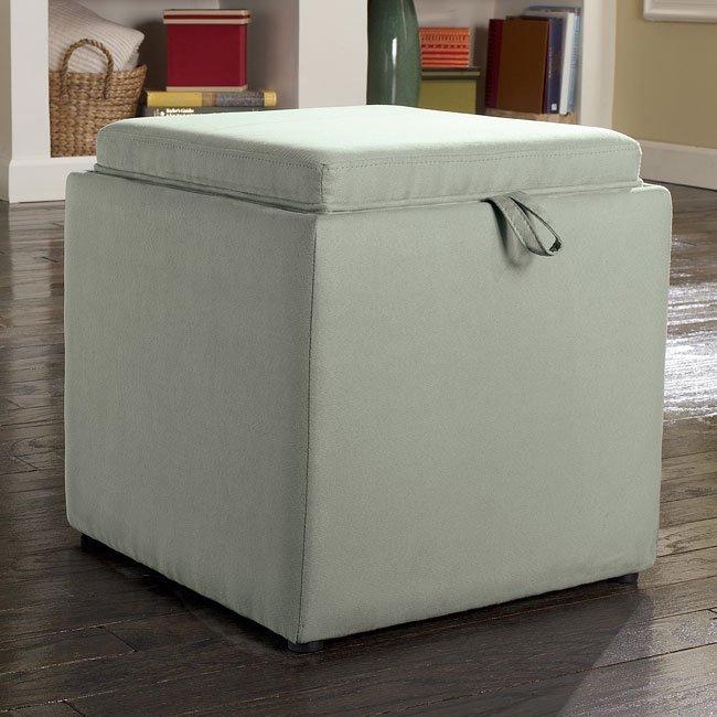 Cubit - Spa Ottoman w/ Flip Top (1 Cube Inside)
