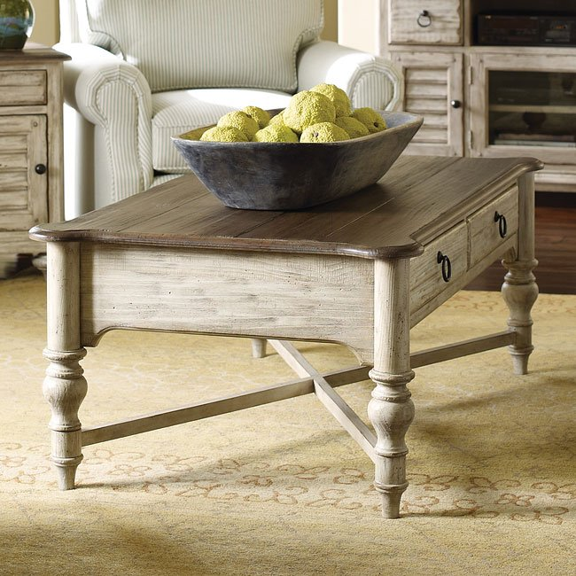 Weatherford Cocktail Table (Cornsilk)