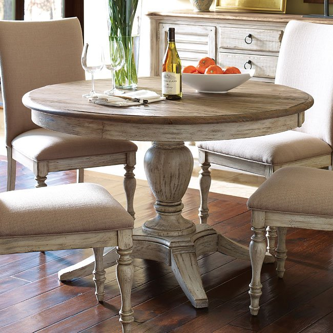 Weatherford Milford Dining Table (Cornsilk)