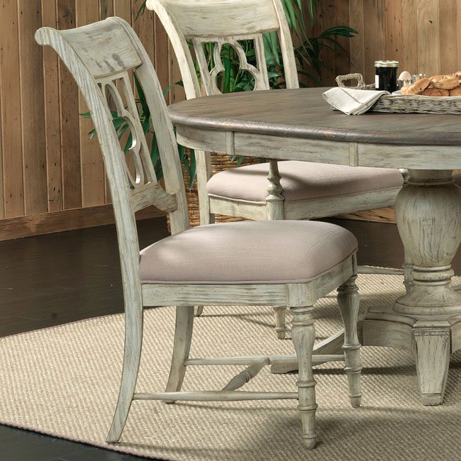 Weatherford Side Chair (Cornsilk) (Set of 2)