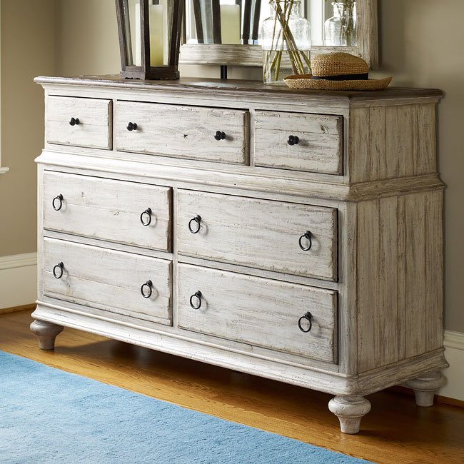 Weatherford westland storage bedroom set cornsilk - Kincaid bedroom furniture for sale ...