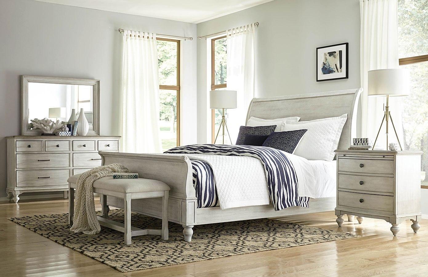Litchfield Hanover Sleigh Bedroom Set American Drew