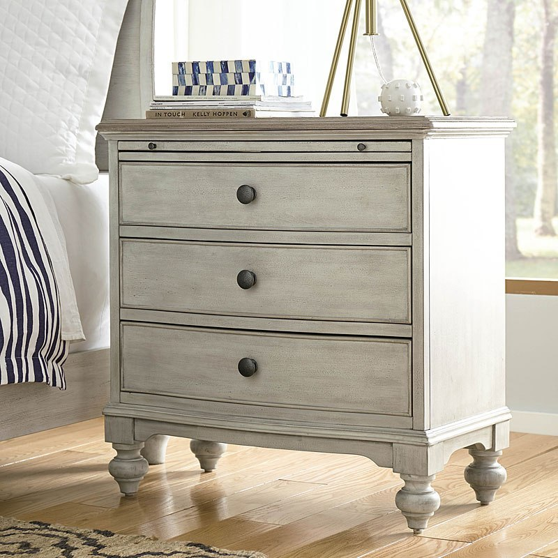 Litchfield Elgin Bedside Chest American Drew Furniture Cart