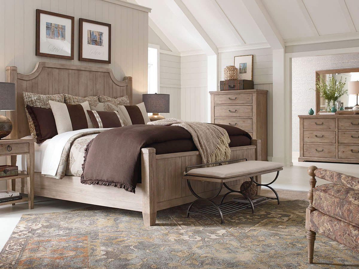 Monteverdi Low Post Bedroom Set Rachael Ray Home By Legacy Classic Furniture Cart