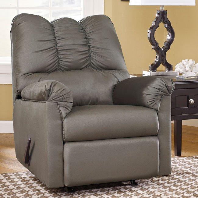 Darcy Cobblestone Sofa Chaise Set Signature Design