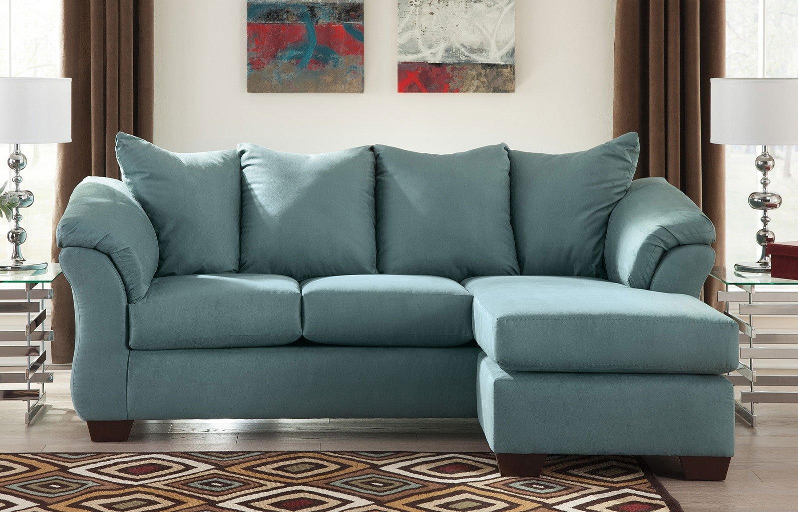 Darcy Sky Sofa Chaise Living Room Set Signature Design
