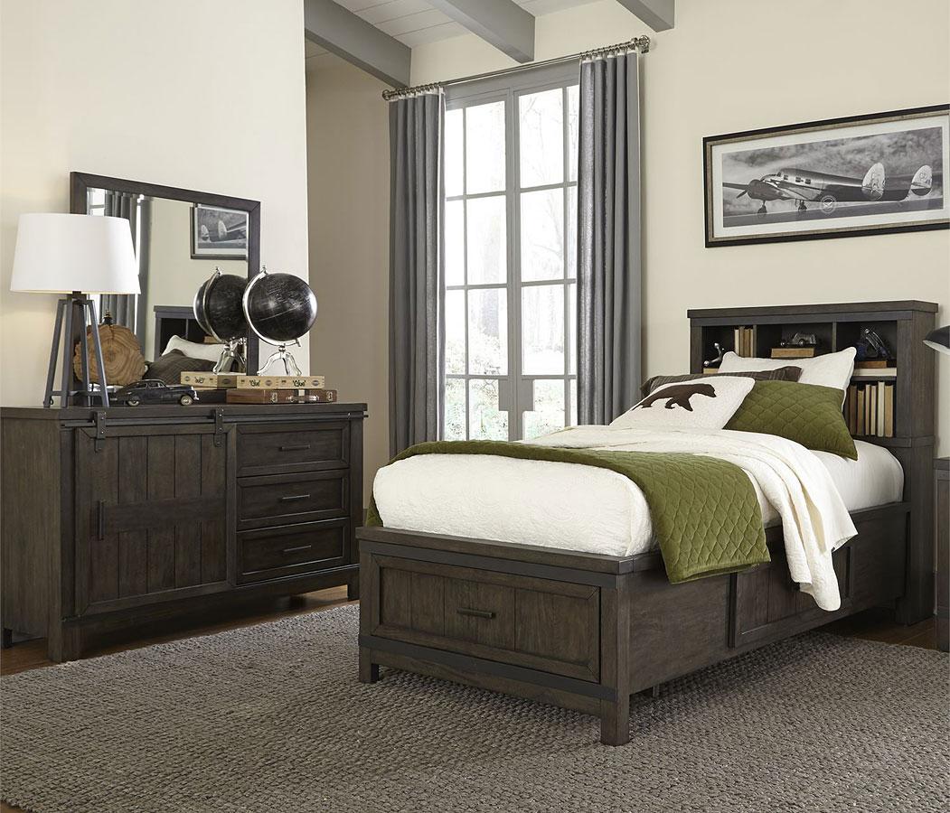 Thornwood Hills Youth Bookcase Bedroom Set