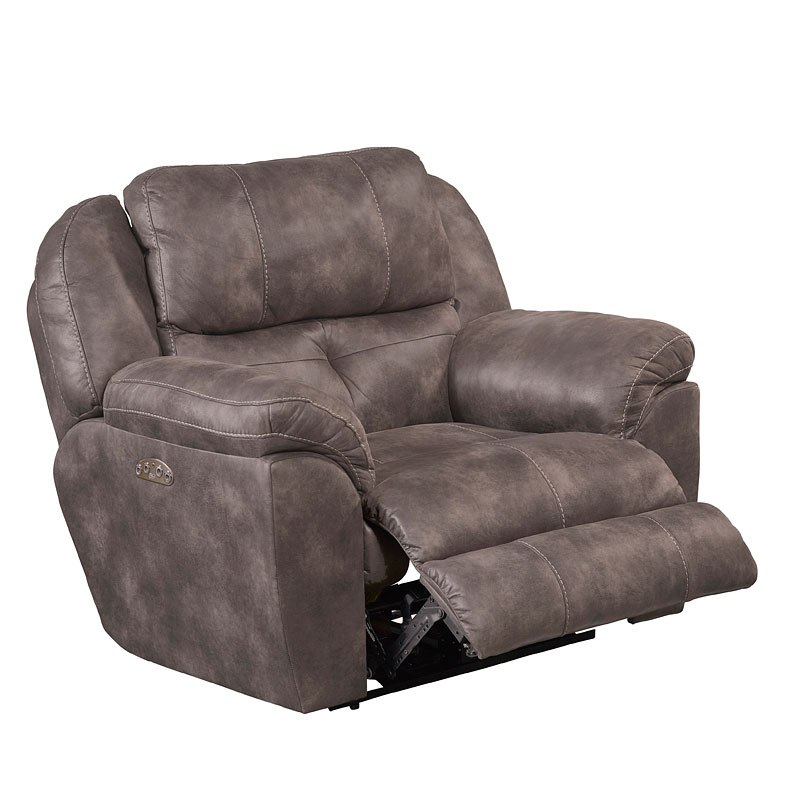 Ferrington Power Lay Flat Recliner W/ Power Headrest And