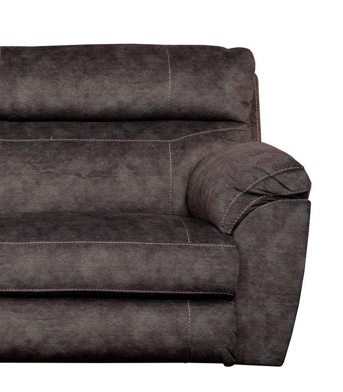 Miraculous Sedona Power Lay Flat Recliner W Power Headrest And Lumbar Smoke Dailytribune Chair Design For Home Dailytribuneorg