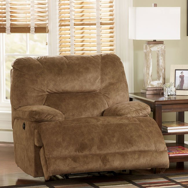 Gladiator - Nutmeg Rocker Recliner with Power