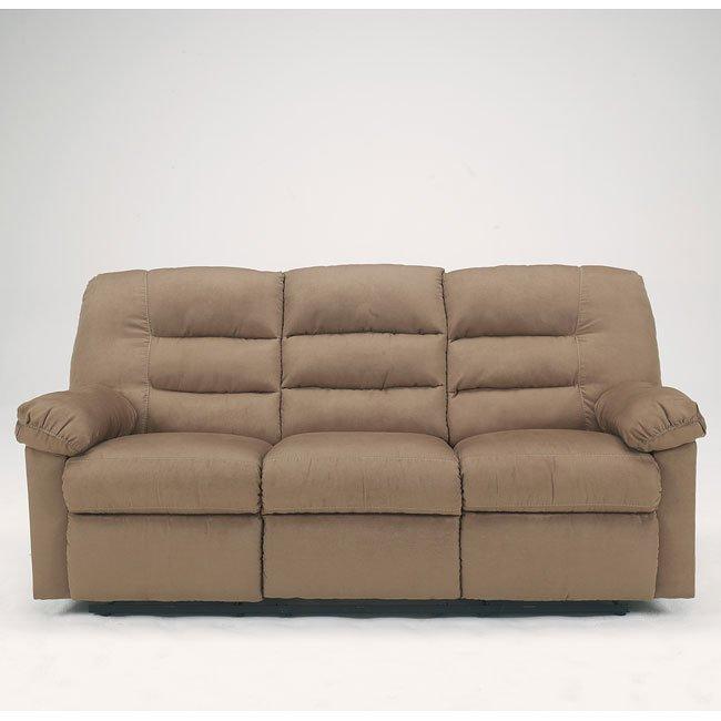 Varsity - Mocha Reclining Sofa