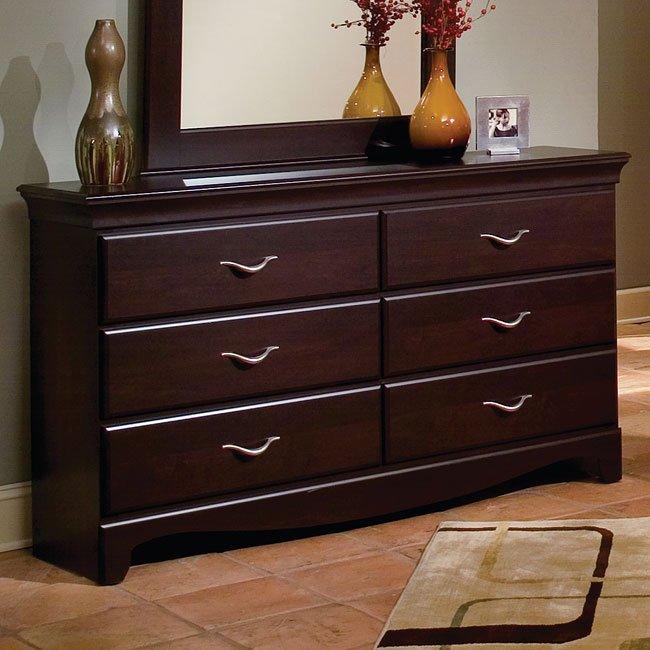 city crossing panel bedroom set standard furniture furniture cart. Black Bedroom Furniture Sets. Home Design Ideas