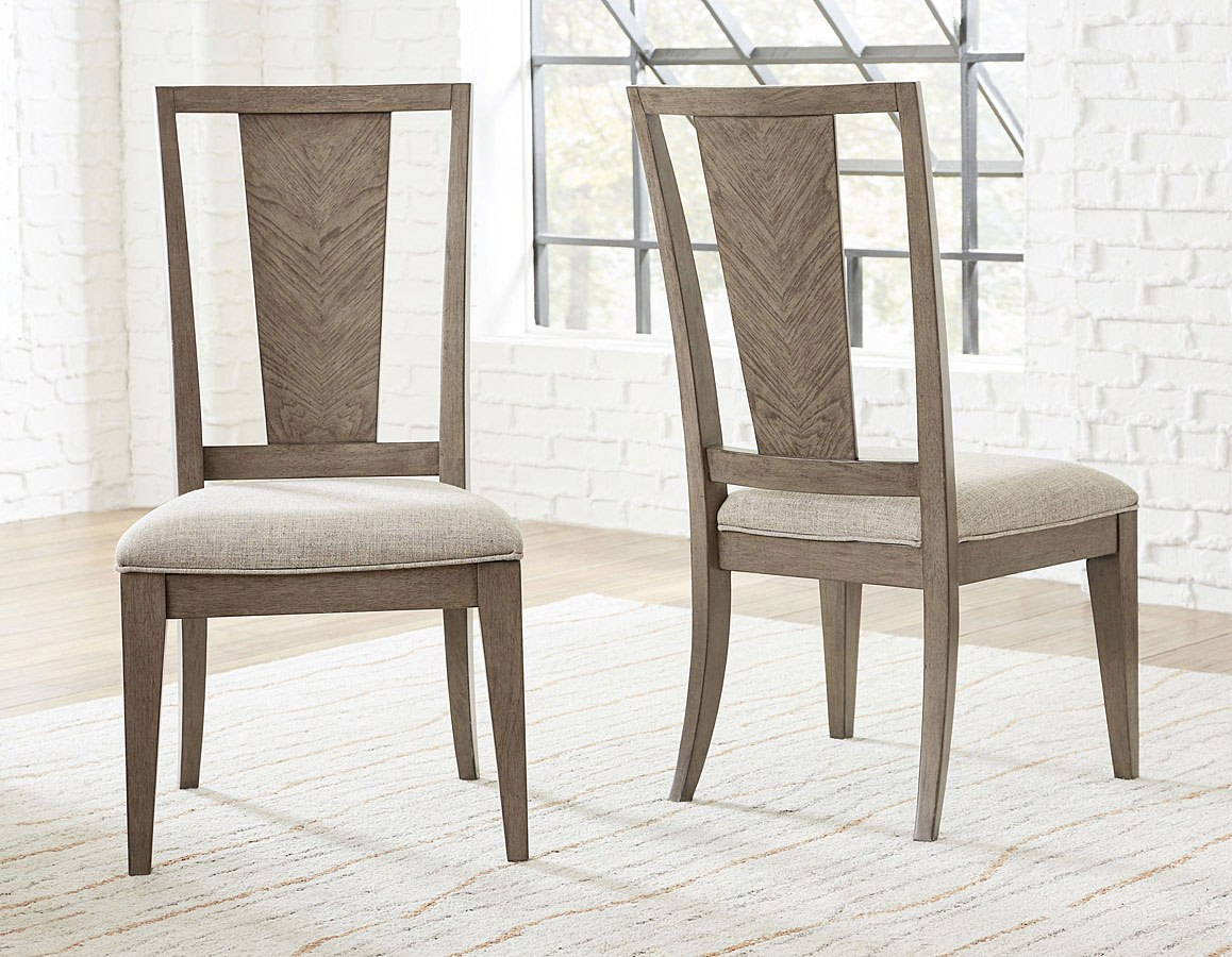 Apex Splat Back Side Chair (Set Of 2) By Legacy Classic