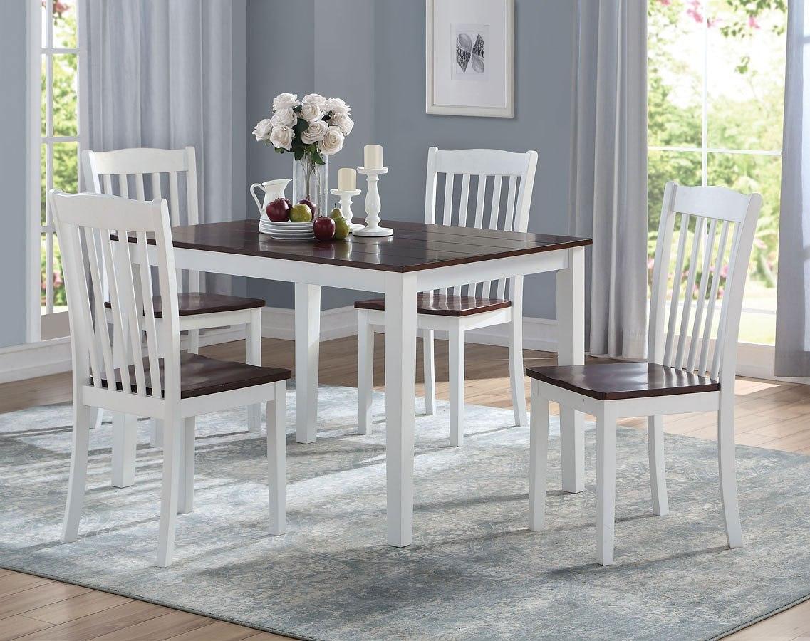 8c33c30b0794 Green Leigh 5-Piece Dining Room Set Acme Furniture | Furniture Cart