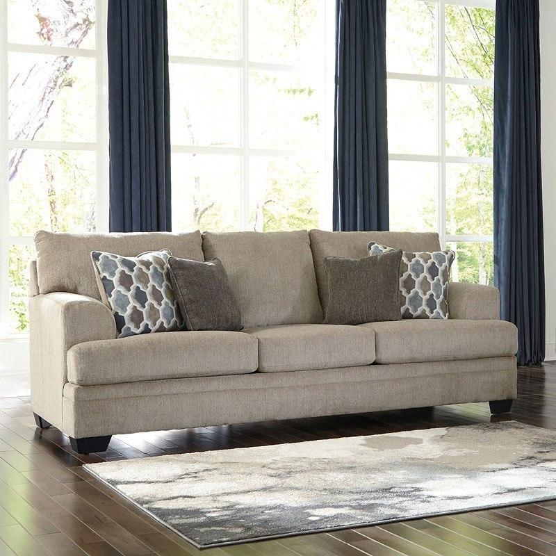 Dorsten Sisal Living Room Set Signature Design Furniture