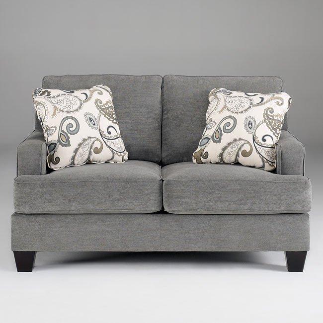Yvette Steel Living Room Set Signature Design By Ashley
