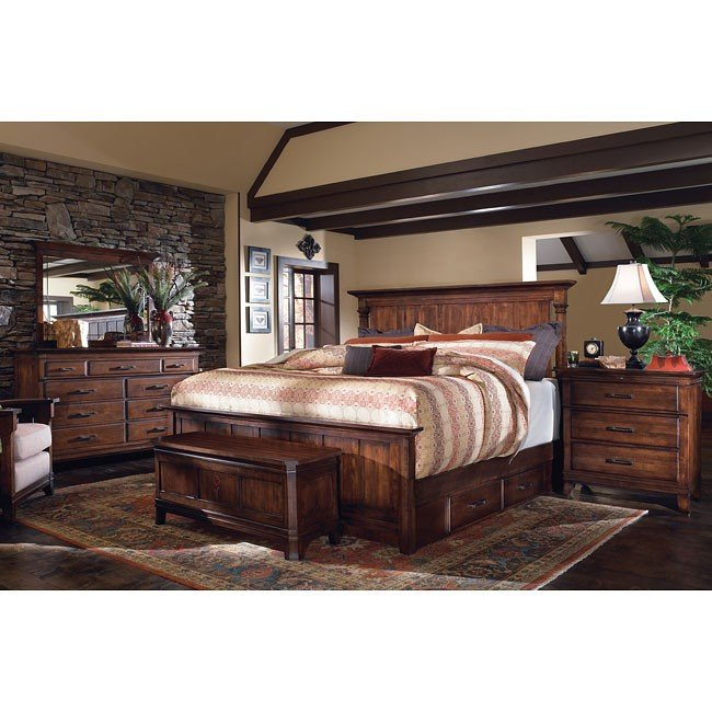 Rosecroft Somerton Panel Bedroom Set