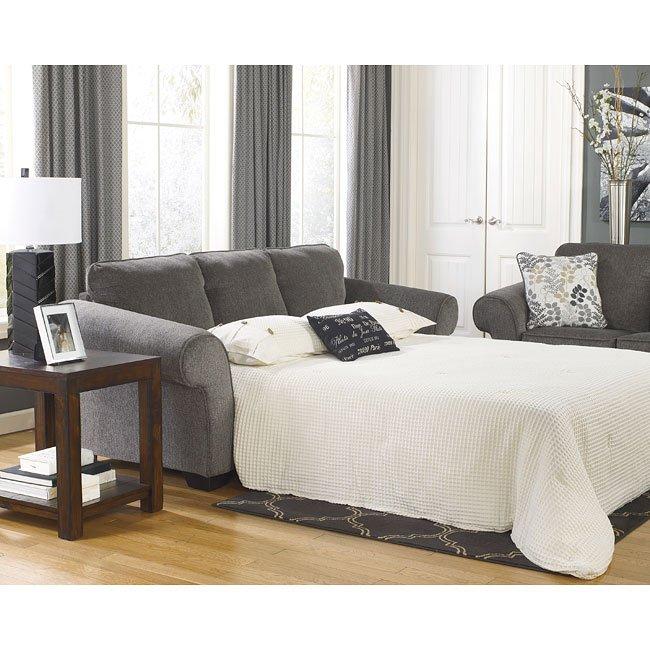 Makonnen Charcoal Queen Sofa Sleeper