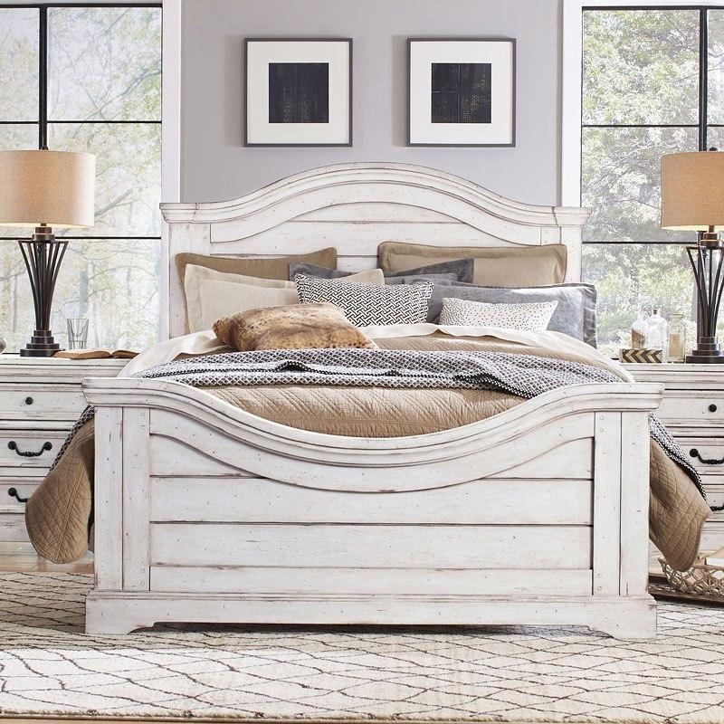 Stonebrook Panel Bedroom Set (Antique White)