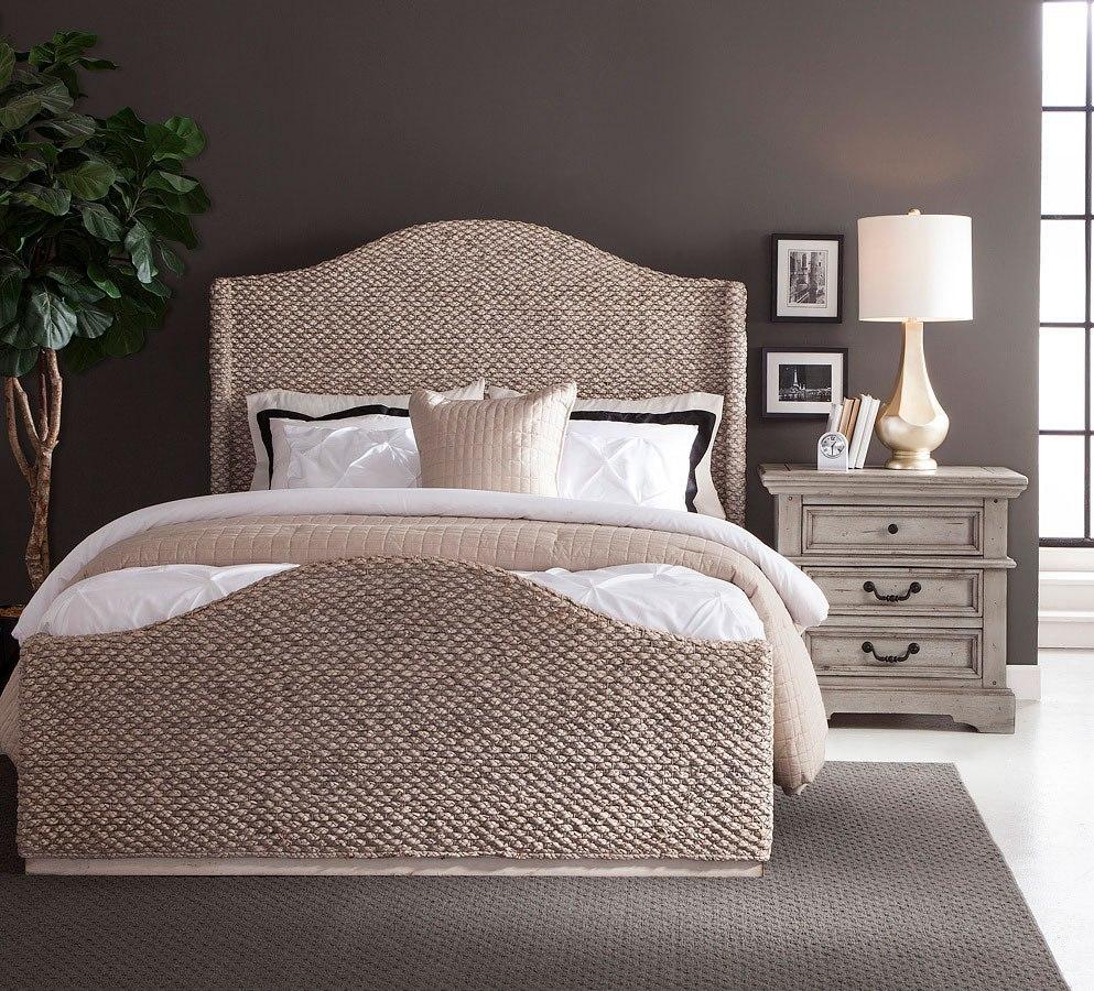 Grey Vintage Bedroom: Stonebrook Antique Gray Bedroom Set W/ Seaside Whitewash