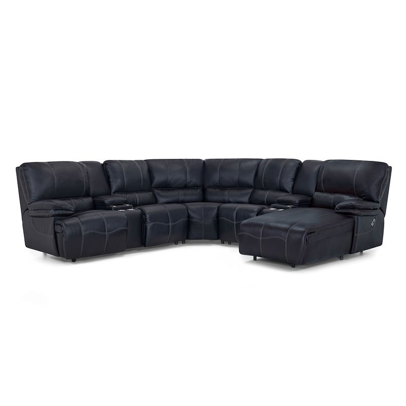 Sensational Boulder Modular Reclining Sectional Robinson Navy Squirreltailoven Fun Painted Chair Ideas Images Squirreltailovenorg