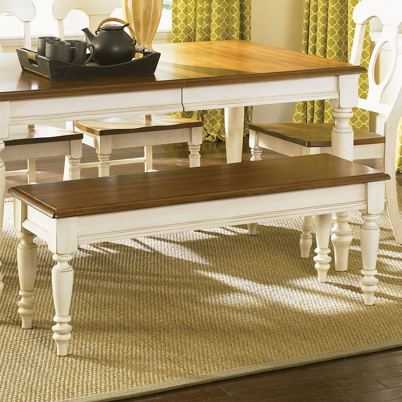 Liberty Furniture Low Country Sand Dining Bench At Hayneedle: Low Country Dining Bench (Sand) Liberty Furniture