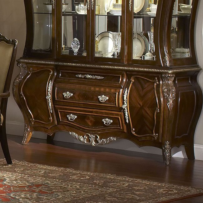 Formal Dining Room Sets For 10: Imperial Court Formal Dining Room Set Aico Furniture