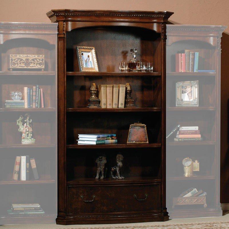 Old World Walnut Executive Home Office Set Hekman