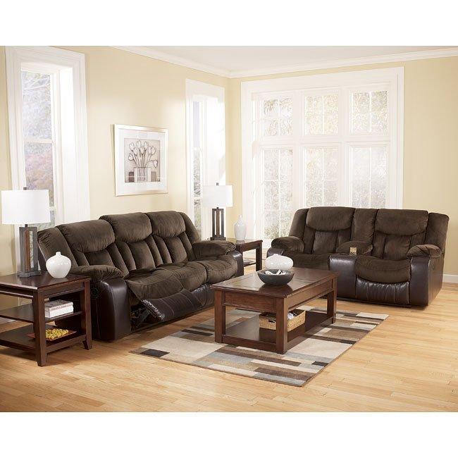 Tafton - Java Reclining Living Room Set