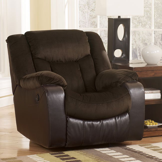 Tafton - Java Rocker Recliner