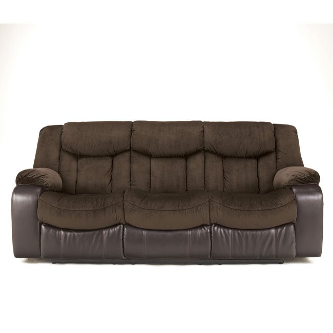 Tafton Java Reclining Sofa Signature Design 1 Reviews
