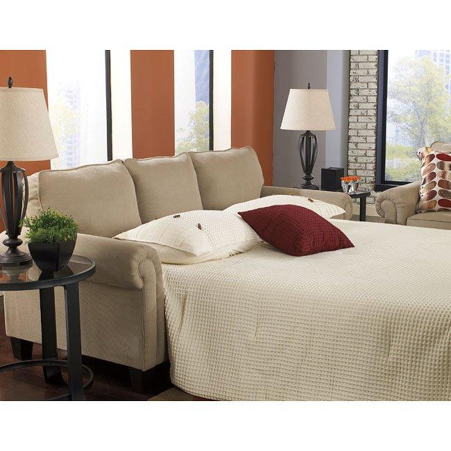 Ekron Oatmeal Queen Sofa Sleeper