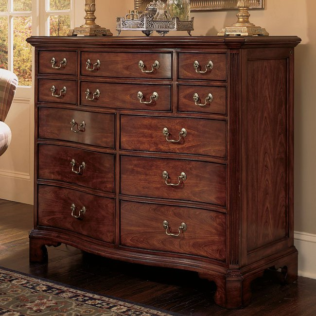 Cherry grove dressing chest american drew furniture cart - American drew cherry bedroom set ...