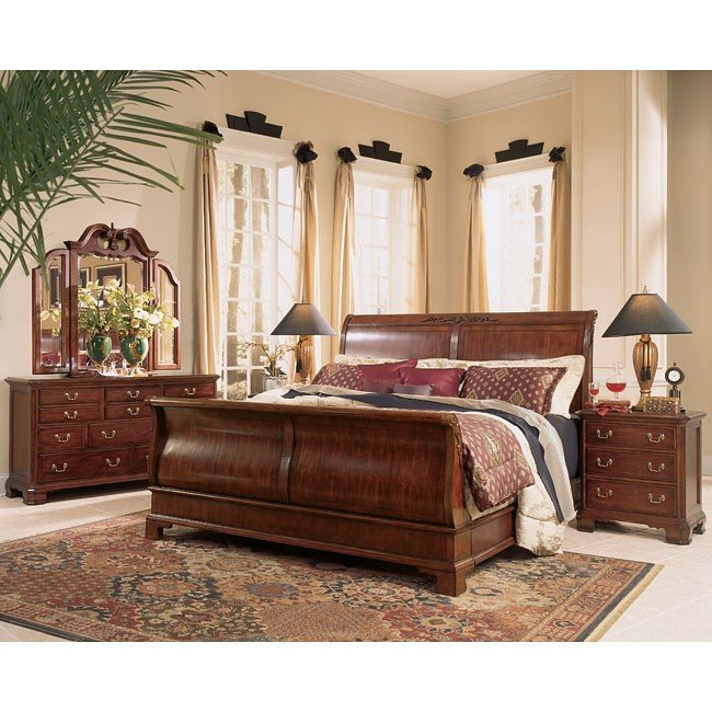 Cherry Grove Sleigh Bedroom Set American Drew