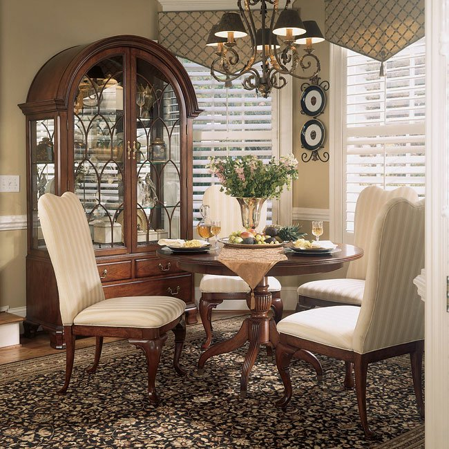 Cherry Dining Room Set: Cherry Grove Round Dining Room Set American Drew