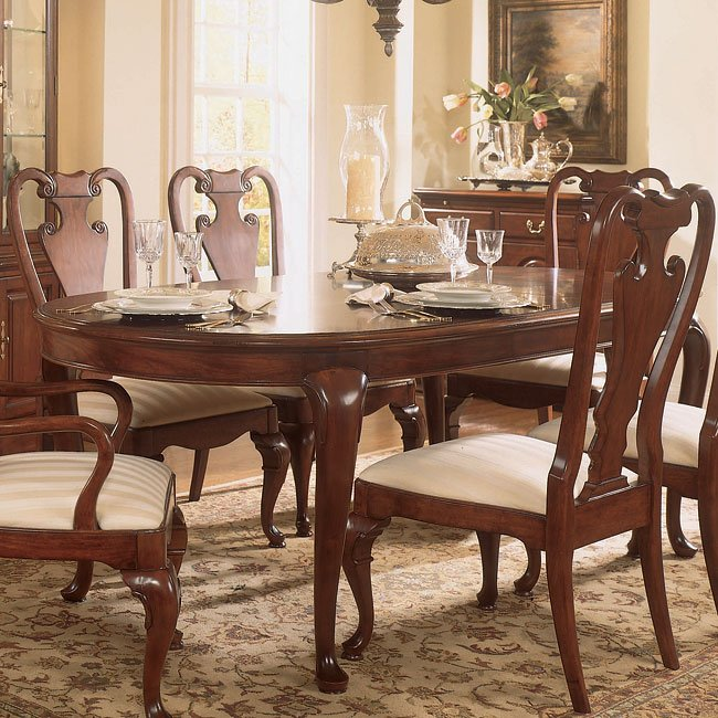 Cherry Dining Room Set: Cherry Grove Oval Dining Room Set American Drew