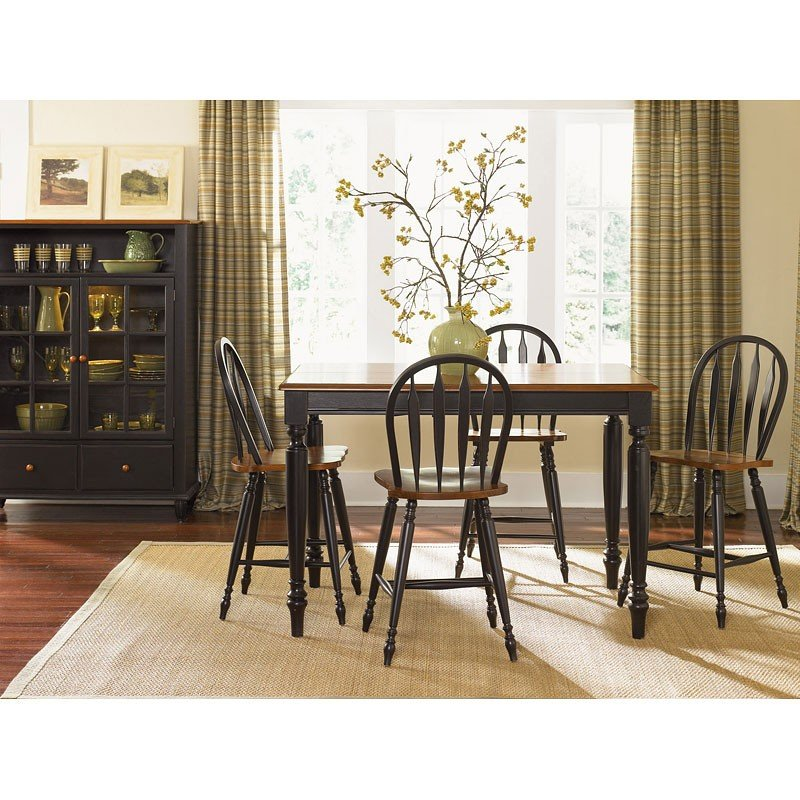Low Country Counter Height Dining Room Set (Black) Liberty ...