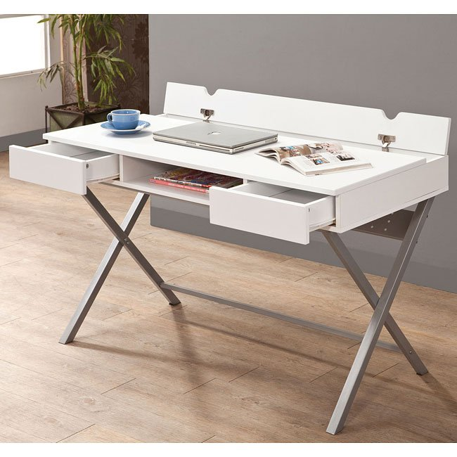 Connect-It White Office Desk