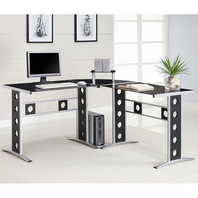 Modern L-Shape Computer Desk
