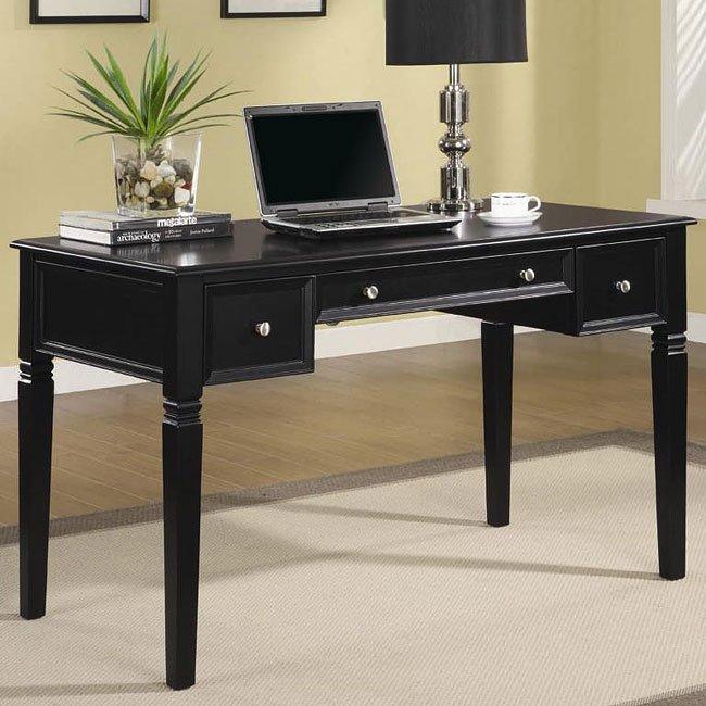 black classic home office desk coaster furniture Luxury Home Office Furniture Classic Car Desk