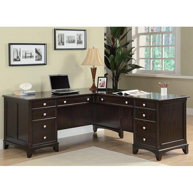 Garson L-Shape Desk