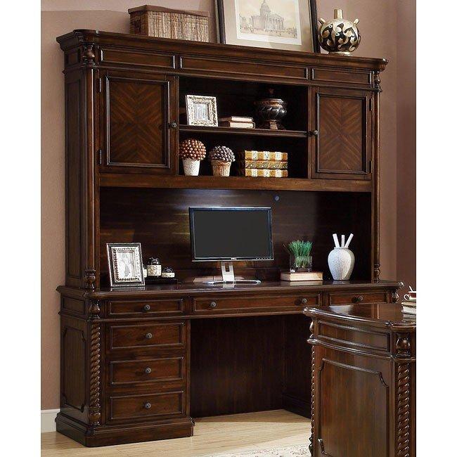 Webb Computer Desk w/ Hutch